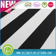black white stripe garment curtain 100polyester jacquard fabric
