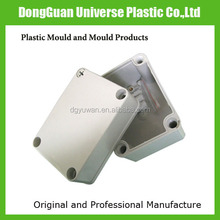 Custom make plastic enclosure parts for electronic device