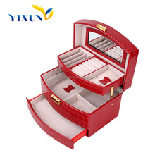 high quality customized beautiful wooden jewelry box wholesales