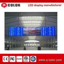 High resolution full color smd outdoor p10 basketball score board with high quality product from Shenzhen Q-color