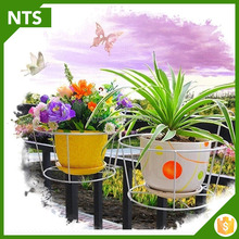 NTS Custom Balcony Flower Stand Metal Hand Made Decoration