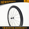 OEM carbon wheel bicycle wheels 700c, 50mm clincher tubeless road carbon wheels with Bitex hubs+Sapim cx-ray spokes