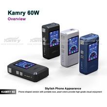 Mini box mod support 0.3-9.9ohms colorful screen vaporizer kamry 60 ecig box mod