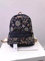 "14""Fashion Women Canvas School Bag Girl Cute Backpack Travel Rucksack Shoulder Bag"
