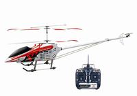 """49"""" FXD 3.5 Channel Gyroscope Metal Frame RC Helicopter with LED lights! (Red)"""