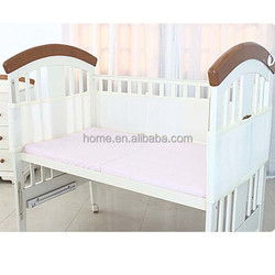 breathable bumper mesh crib liner cot bumpers in mesh 3D sandwich fabric baby cot bumper
