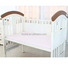 breathable mesh bumper mesh crib liner cot bumpers in mesh 3D sandwich fabric baby cot bumper