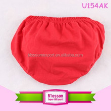 Hot sales!boy bloomers red wholesale 100% cotton bloomers for kids