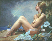 hot selling nude art oil painting with high quality