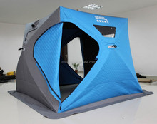 Portable pop up for winter use ice fishing Tent