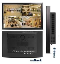 "55"" industrial 1080p lcd monitor with vga av hdmi dvi input"