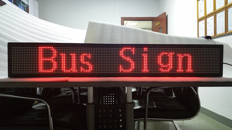 Red LED sign