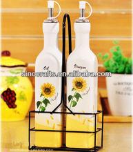 ceramic oil and vinegar cruet sets