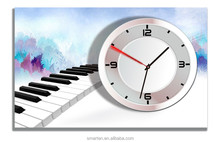 Last style antique piano wooden wall clock