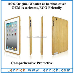 LPC5801 Bamboo Case for iPad Tablet Bamboo Protective Case for iPad 4