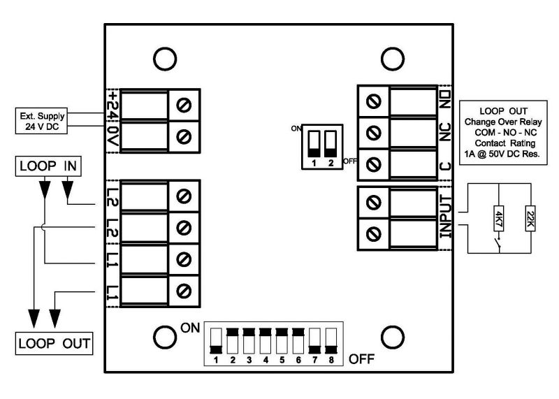 Wiring Diagram For A Smoke Detector Alarm on aspirating smoke detector