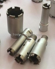 Roof/ring diamond segment for concrete core drill bit Assembled drill bits