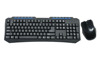 Hot selling BST-221 2.4G wireless keyboard and mouse combo, Multimedia Keyboard with 3D/6D mouse for PC/Laptop customization