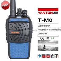 CE Approved mobile hf vhf uhf 2 meter radio(YANTONT-M8)