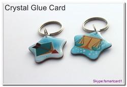 Plastic PVC ISO14443A Business Glue card