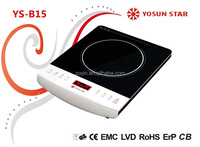 2000W low price Induction Cooker/Induction cooktop black crystal panel (B15)
