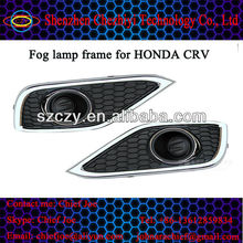 LED Light car Fog lamp frame for Honda CRV 2012