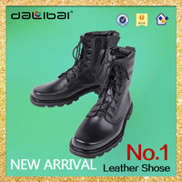 high quality western cowboy steel toe cap army boots and safety shoes
