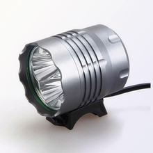 (1500366) High Power Bicycle 4*T6 Aluminum Alloy Rechargeable Flash Light