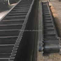 New design corrugated sidewall conveyor belt for conveying system, industrial conveyor belt