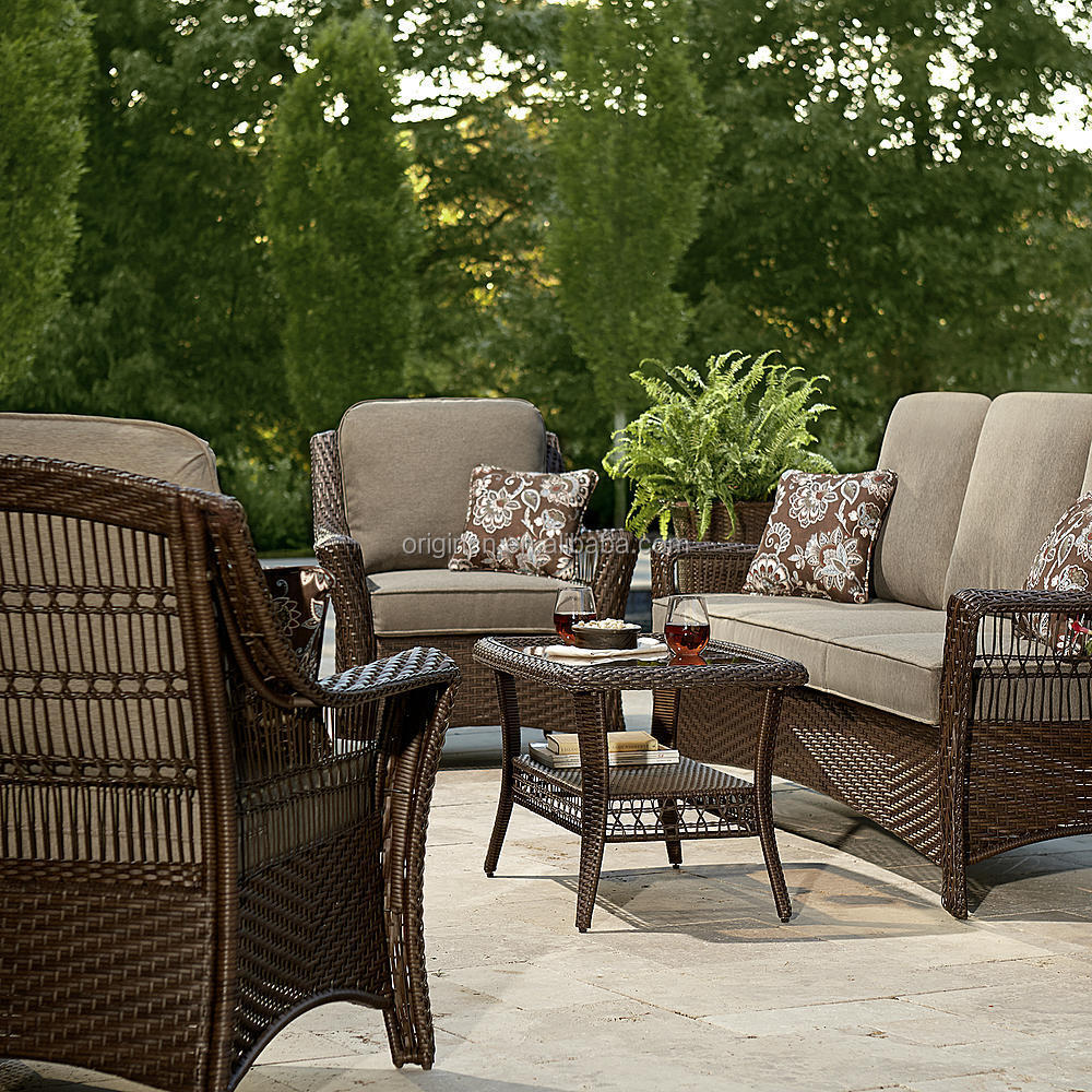 cheap rattan armchairs with loveseat and coffee table bali