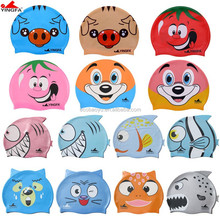 Kids Swimming Caps/Children Swimming Hats/Silicone Swimming Caps Wholesale