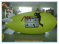 Factory price giant inflatable airplane,helium balloon,helium blimp for advertising for sale