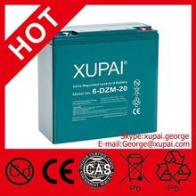 OEM China Products 12V 6-DZM-20 AGM 12V Battery for E-bike/E-moped/Escooter with CE/ISO Certificate Made in China