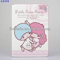 FL2817 2013 Guangzhou hot selling little twin star wallet leather flip case for ipad mini