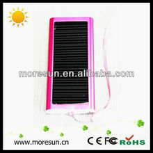 Affordable fashion solar battery charger 1200mah 2013 fashion cute backpacks for teens