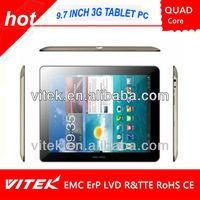9.7'' Quad Core 3G Tablet Phablet MID