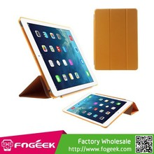 Fast Shipping Tri-fold PU Leather Smart Cover and Companion PC Back Case w/ Stand for iPad Air
