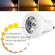 Osram led spotlight lamp CCT dimmable 4w spotlight led,gu10 led spotlight