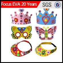La costumbre de fiesta de carnaval sombrero de espuma/sombrero de espuma eva/espuma de sombrero de fiesta