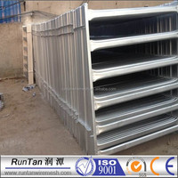 High quality pipe corral fence panels( factory, ISO 9001 certificate )
