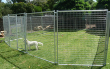 DOG PEN PANELS RUNS PET KENNELS WITH CLAMPS