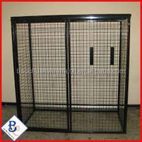 galvanized powder coated steel warehouse storage cage,metal warehouse storage cage for sale