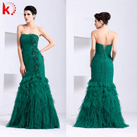 New fashion lace dress 2014 green evening prom dress lime green evening dress