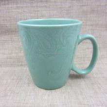 ethnic style solid color glazed ceramic mug factory direct
