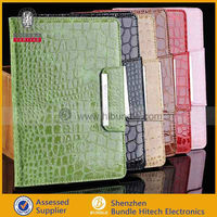 2013 New Noble and Flaunty 7.9 inch Crocodile Leather Case For ipad mini
