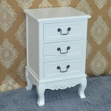 White cabinet storage unit drawers hall bathroom bedroom furniture