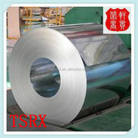 dx51d 1250mm width color RAL 9016 zinc 80g/m2 prepainted galvanized steel coil for metal roofing
