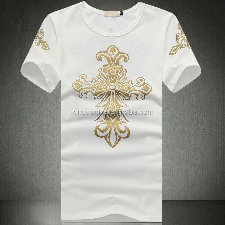 Top selling full print t shirt fancy design t shirts with Printing your own t shirts