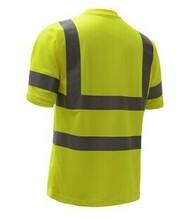 Customed 100% poliéster 140 gsm ojo de pájaro de tela reflectante camiseta