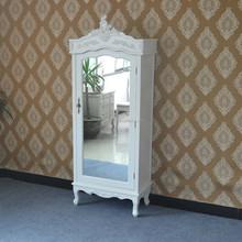 Boudoir Armoire Jewelry Armoire Portable Armoire Wood Wardrobe kd Mirror Cabinet Bedroom